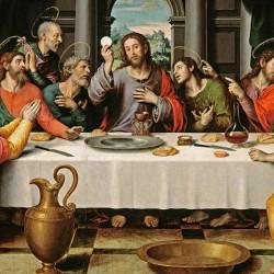 Ostatnia Wieczerza - obraz wydrukowany na płótnie canvas