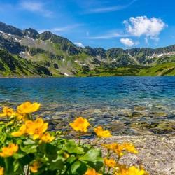 Tatry, Dolina Pięciu Stawów Polskich- Nowoczesny obraz na płótnie