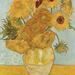 Słoneczniki Vincent Van Gogh - Reprodukcja obrazu na płótnie