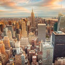 Manhattan, Nowy Jork - Nowoczesny obraz do salonu