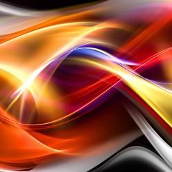 Kolorowa abstrakcja - Nowoczesny obraz na płótnie canvas