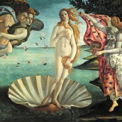Narodziny Wenus - Sandro Botticelli, Reprodukcja obrazu na płótnie