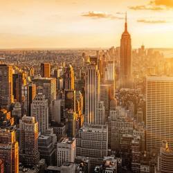 Nowy Jork - Nowoczesny obraz drukowany na płótnie