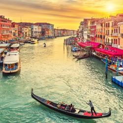 Kanał Grande w Wenecji - Nowoczesny obraz na ścianę