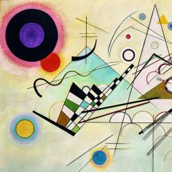 Wassily Kandinsky - Kompozycja VIII - Reprodukcja obrazu na płótnie