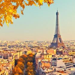 Paryż - Nowoczesny obraz na płótnie