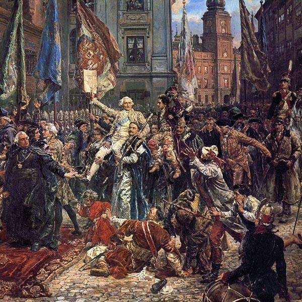 Jan Matejko - Konstytucja 3 Maja - Reprodukcja
