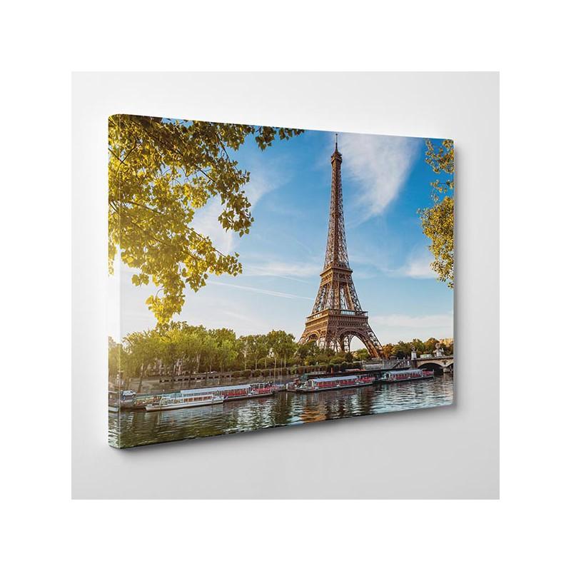 Rewelacyjny Wieża Eiffla w Paryżu - Obraz na płótnie, Nowoczesne obrazy na ścianę DW59