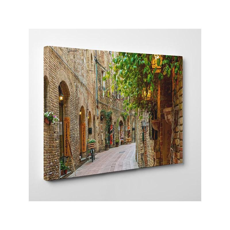W Mega Alejka w Toskanii - Obraz na płótnie, Nowoczesne obrazy na ścianę NN28