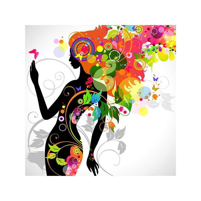 11 Gorgeous Ͽ� Black� Blooms: Obraz Na Płótnie, Obraz Na ścianę